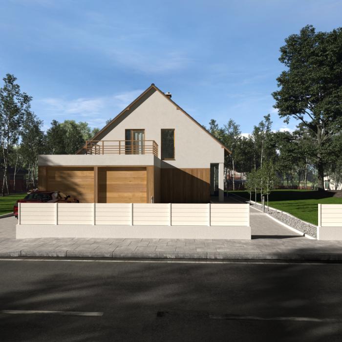clôture-alu-lame-pleine-blanc